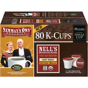 Newman's Own Organics Newman's Breakfast Blend Coffee K-Cup Pods, 80 ct.