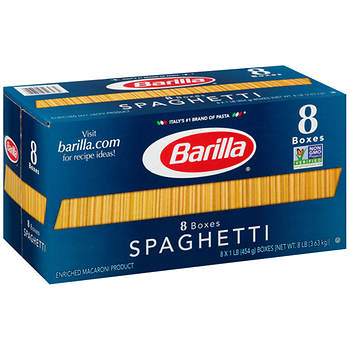 Barilla Spaghetti Pasta, 16 oz.- 8 pk.