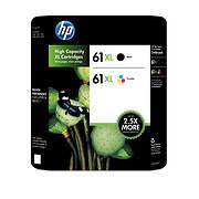 HP 61XL Combo Ink Cartridges, 2 pk.