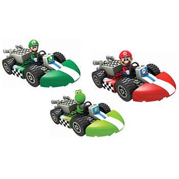 K'NEX Mario Kart Wii Mario, Luigi and Yoshi Standard Kart Building Sets