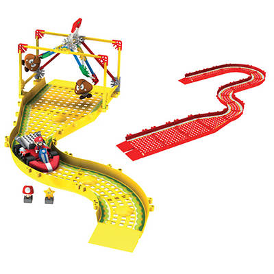 K'NEX Mario Kart Wii Mario vs. Goombas Building Set and Track Expansion Pack