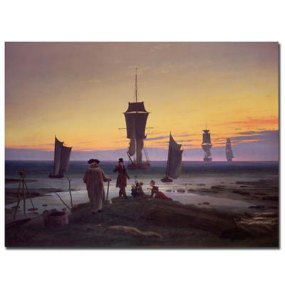 "The Stages of Life, c. 1835 by Caspar David Friedrich Gallery-Wrapped Giclee Print, 32"" x 26"""