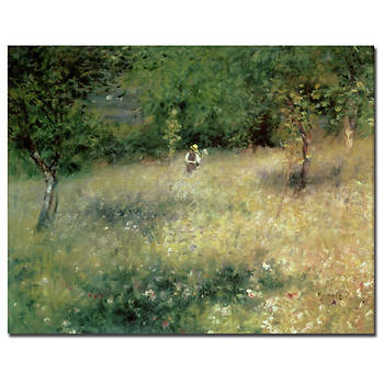 "Spring at Chatou, 1872-1875 by Pierre-Auguste Renoir Gallery-Wrapped Giclee Print, 47"" x 35"""