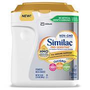 Similac Pro-Sensitive Non-GMO Infant Formula, 34 oz.