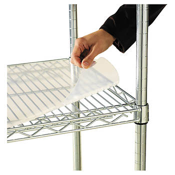 "Alera Shelf Liners for Wire Shelving, 18""D x 36""W, 4-Pk - Clear"