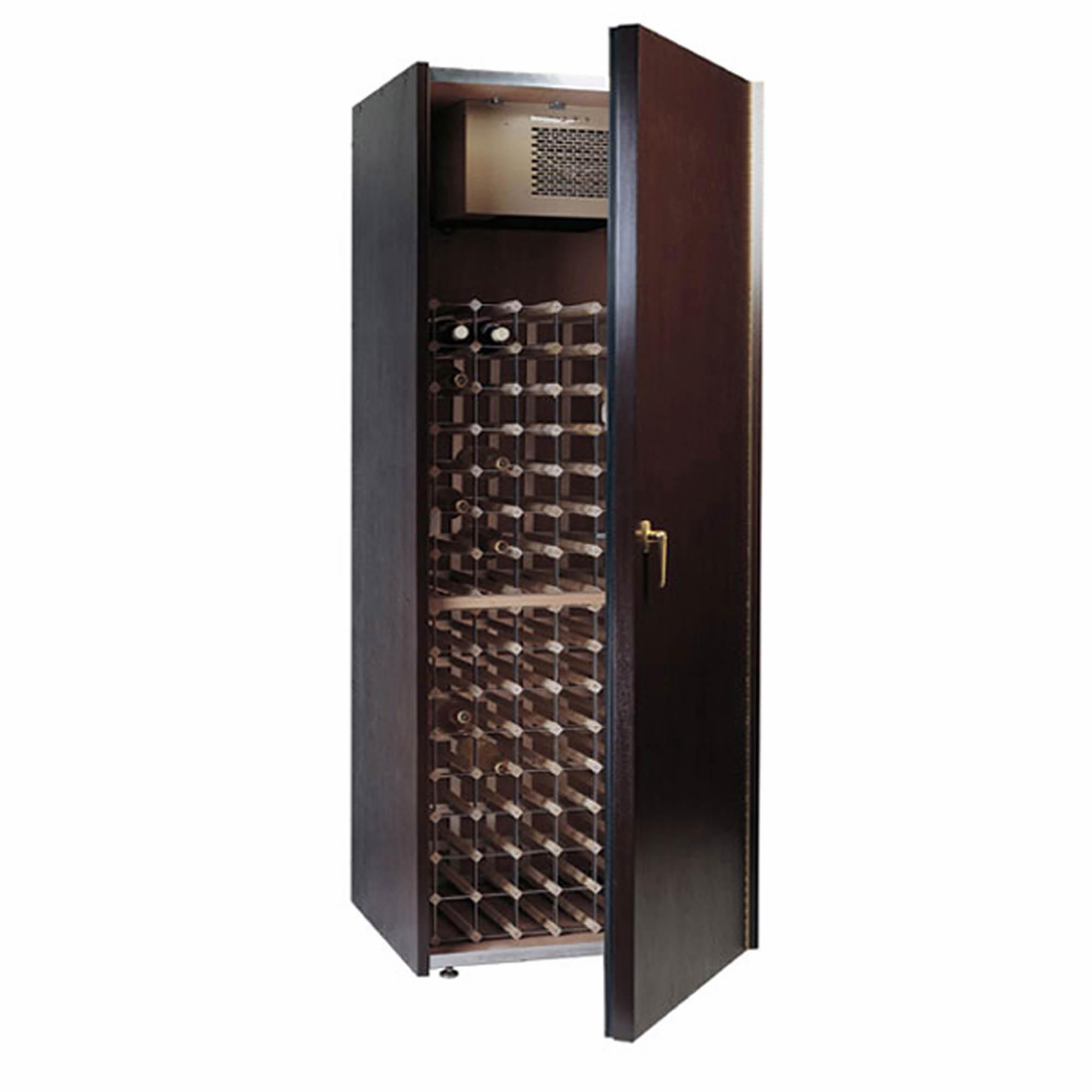 Cabinet With Wine Cooler Vinotemp 300wc 240 Bottle Wine Cabinet Dark Cherry Bjs