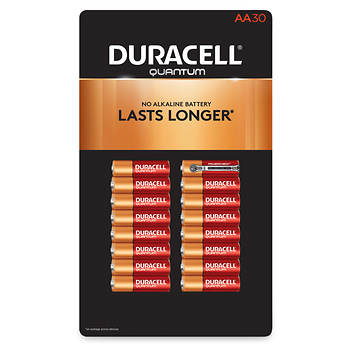 Duracell Quantum AA Batteries, 30 ct.