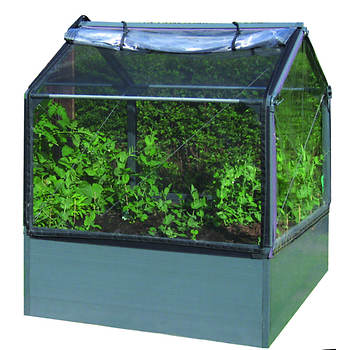 GrowCamp 4' x 4' Modular Greenhouse