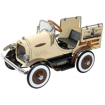 Dexton Kids Woody Wagon Roadster Pedal Car
