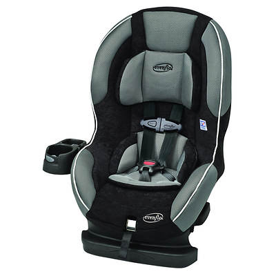 Evenflo Titan Elite Dunlap Convertible Car Seat - Grey/Black