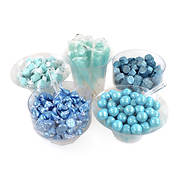 Snack Box Pros Blue Candy Buffet Box