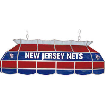 "New Jersey Nets 40"" Tiffany-Style Lamp"