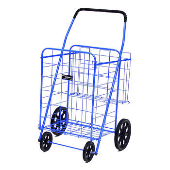 Narita Trading Company Jumbo Shopping Cart Plus - Blue