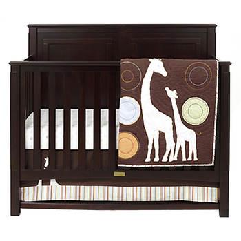 Carter's Sleep Haven 4-in-1 Lifetime Crib - Chocolate