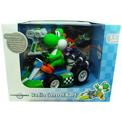 Goldie International Ltd. Mario Kart Wii Yoshi Radio Control Kart
