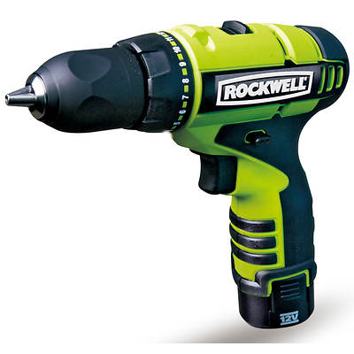 Rockwell Cordless 12V LithiumTech Drill Kit