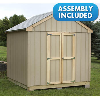 Quality Outdoor Structures 8' x 8' Smart Panel Siding Advanta-Shed with Delivery and Installation