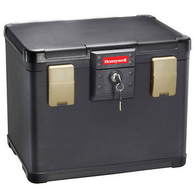 Honeywell 0.6-Cu. Ft. Fire and Water Document and File Chest with Key Lock