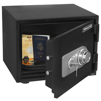 Honeywell 0.52-Cu. Ft. Fire and Security Safe with Combination Dial/Key Lock