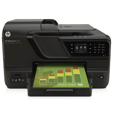 HP Officejet Pro 8600 e-All-In-One Printer Bundle Edition
