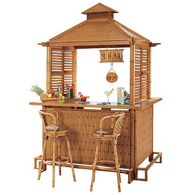 Living Home Outdoors Tiki Bar