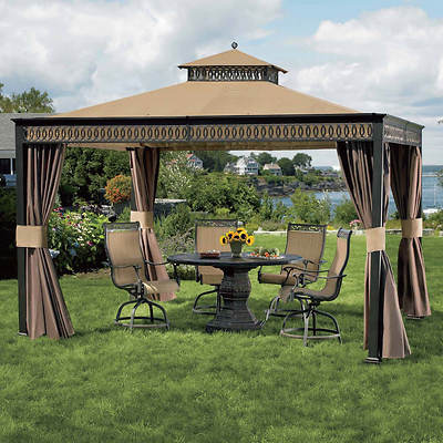 Living Home Outdoors 10' x 12' Gazebo