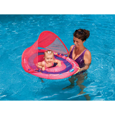 Swimways Baby Spring Float with Sunshade Canopy