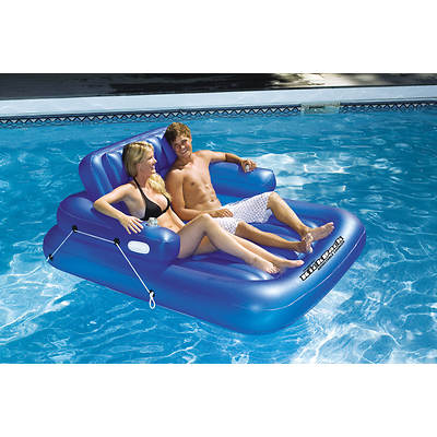 Swimline KickBack Double Adjustable Lounger