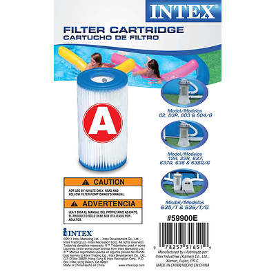 Intex A Cartridges, 3-Pk