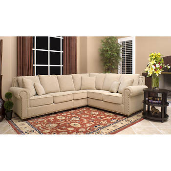 Abbyson Living Isabella Sectional - Beige