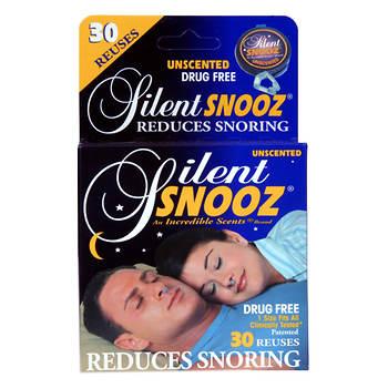 Silent SNOOZ Snoring Nasal Clip, Unscented