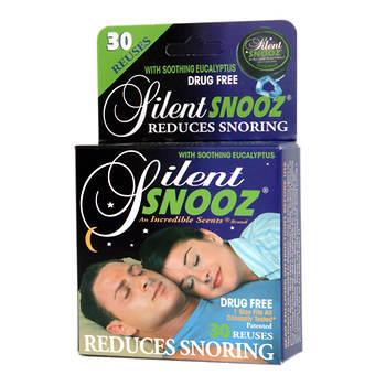 Silent SNOOZ Snoring Nasal Clip, Eucalyptus