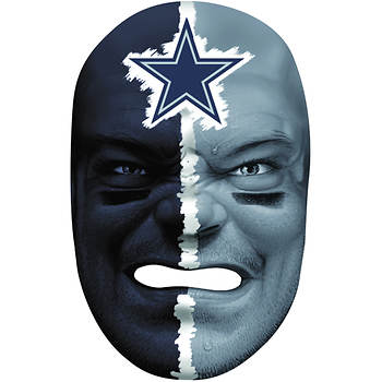 Franklin Sports NFL Dallas Cowboys Fan Face Mask