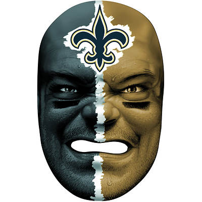 Franklin Sports NFL New Orleans Saints Fan Face Mask