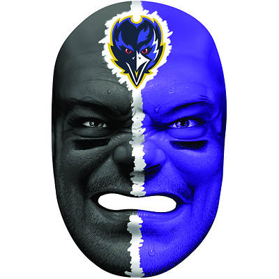 Franklin Sports NFL Baltimore Ravens Fan Face Mask