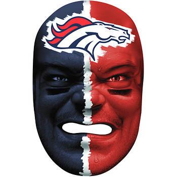 Franklin Sports NFL Denver Broncos Fan Face Mask