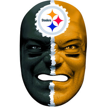 Franklin Sports NFL Pittsburgh Steelers Fan Face Mask