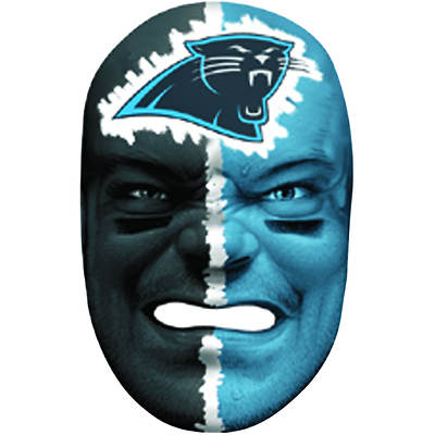 Franklin Sports NFL Carolina Panthers Fan Face Mask