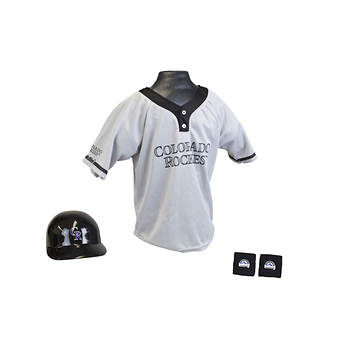 MLB Colorado Rockies Youth Uniform Set - One-Size-Fits-All