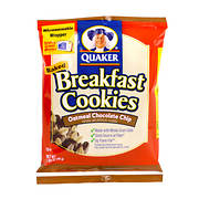 Quaker Oatmeal Chocolate Chip Breakfast Cookie, 50 pk./1.69 oz.