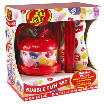 Little Kids Jelly Belly Scented Bubble Blowing Set