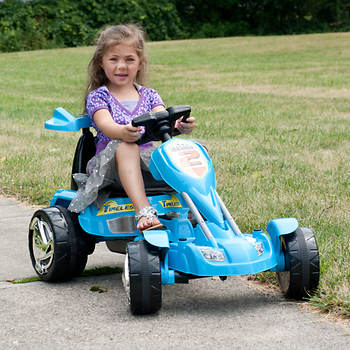 Lil' Rider Blue Ice Battery-Operated Go-Kart