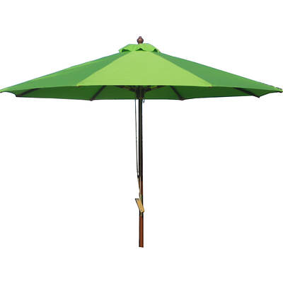 Living Home Outdoors 9' Market Umbrella - Lime Green