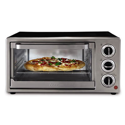 Oster 6-Slice Convection Toaster Oven - Black/Stainless Steel