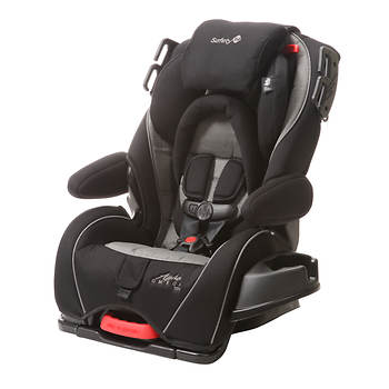 Safety 1st Alpha Omega Elite Hyde Park Convertible Car Seat - Black/Grey