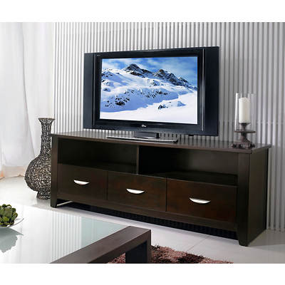 """Abbyson Living Malibu 62"""" Wide TV Console - Espresso"""