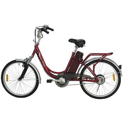 "Yukon Trail Women's Navigator Electric 24"" Bicycle"