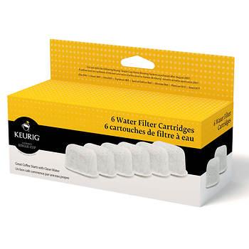 Keurig Water Filter Cartridges, 6-Pk