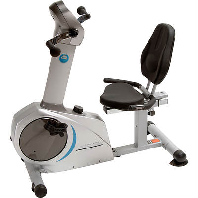 Stamina Elite Total Body Recumbent Bike with Free Folding Equipment Mat