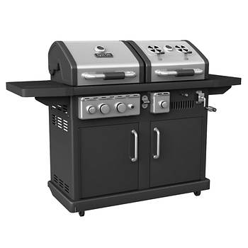 Dyna-Glo Dual-Fuel Gas/Charcoal Grill